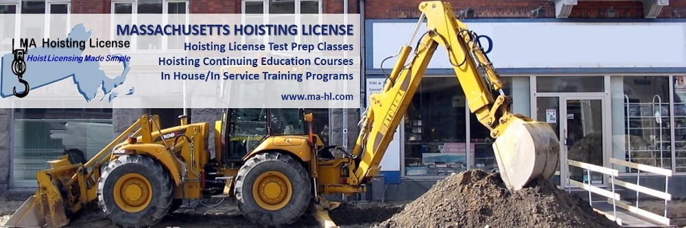 Massachusetts Hoisting License - Classroom Training
